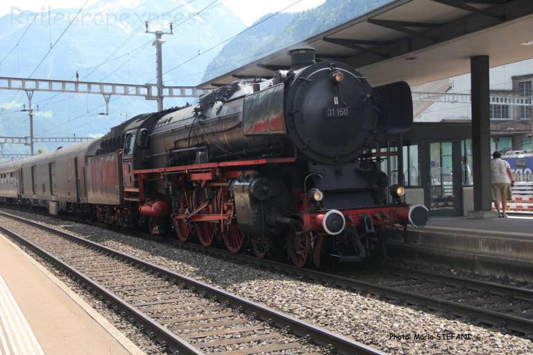 01 150 DB à Erstfeld (CH)