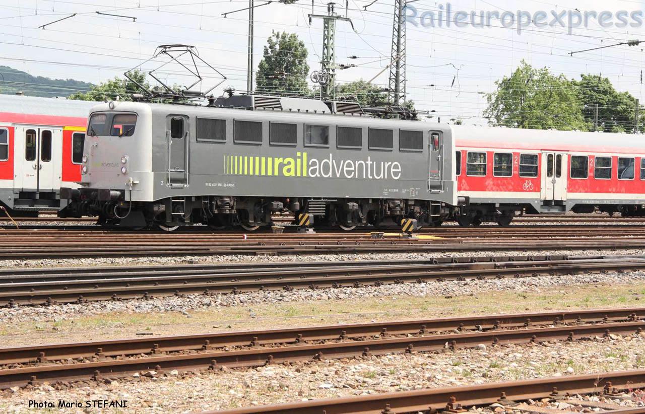 139 558-1 Railadventure à Basel (CH)