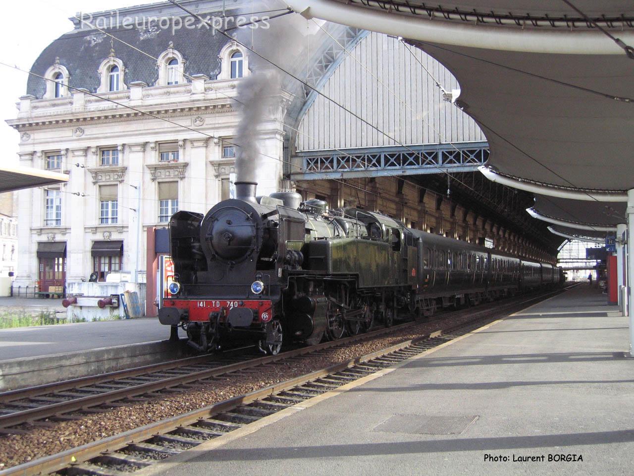 141 TD 740 SNCF à Bordeaux (F-33)