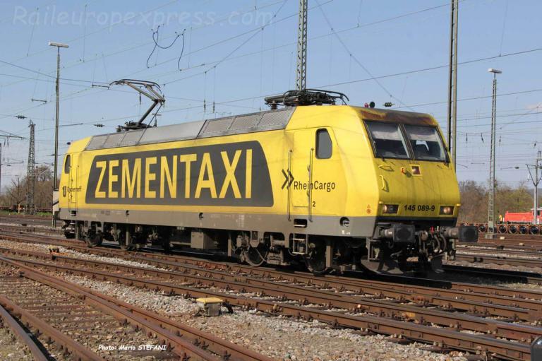 145 089-9 Rhein Cargo à Basel (CH)
