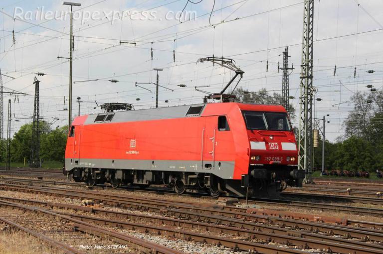 152 089-9 DB à Basel (CH)