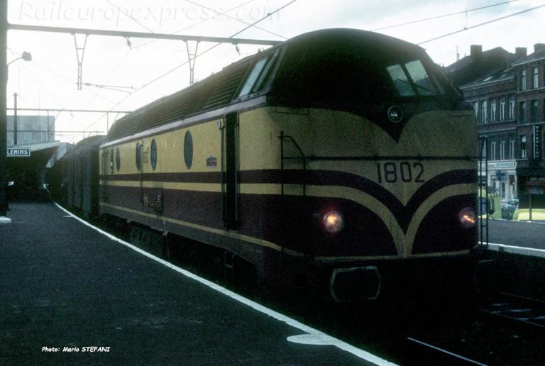 1802 CFL à Liège (B)