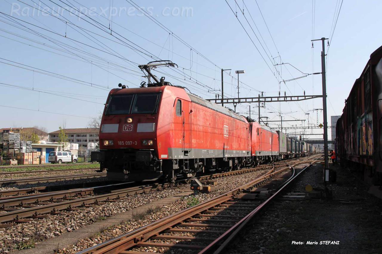 185 097-3 DB à Pratteln (CH)