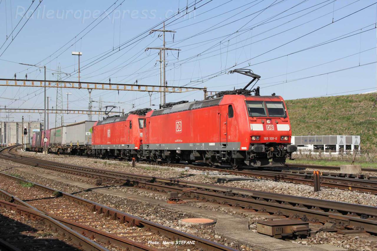 185 109-6 DB à Pratteln (CH)