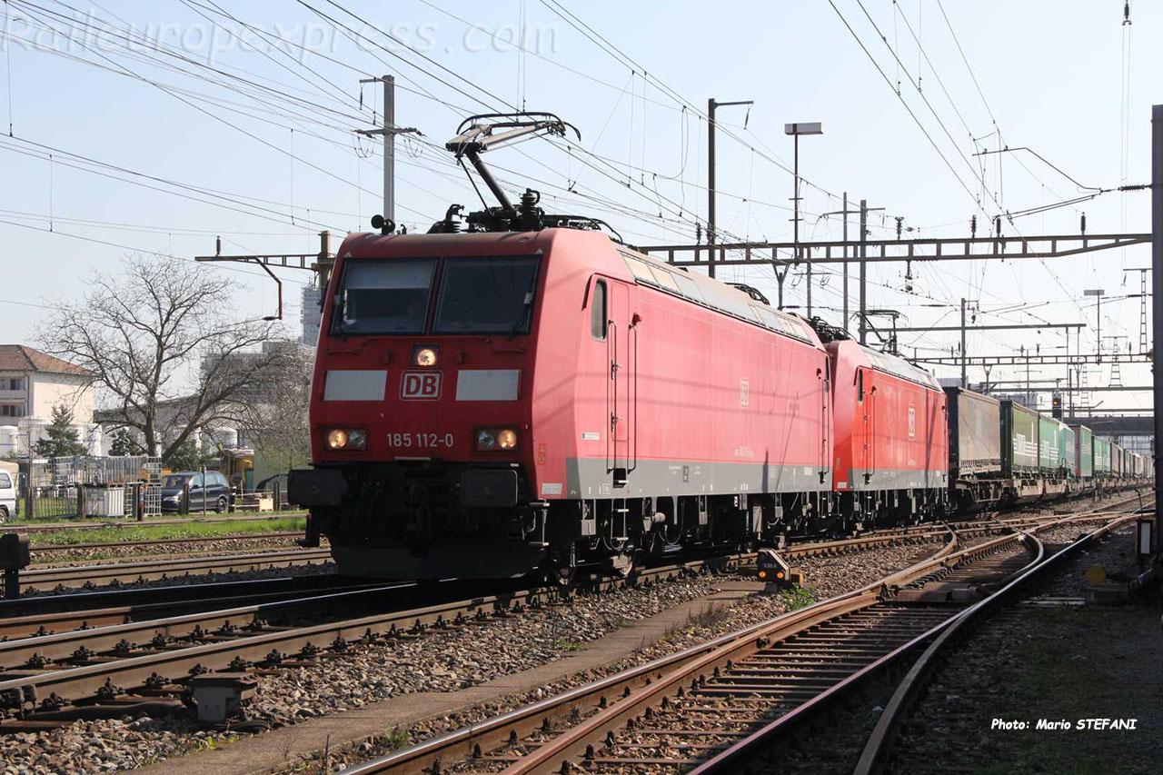 185 112-0 DB à Pratteln (CH)