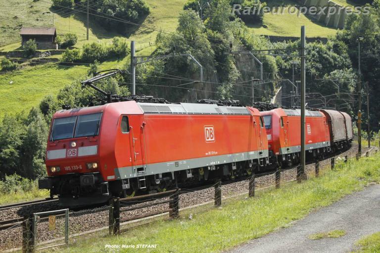 185 133-6 DB à Wassen (CH)