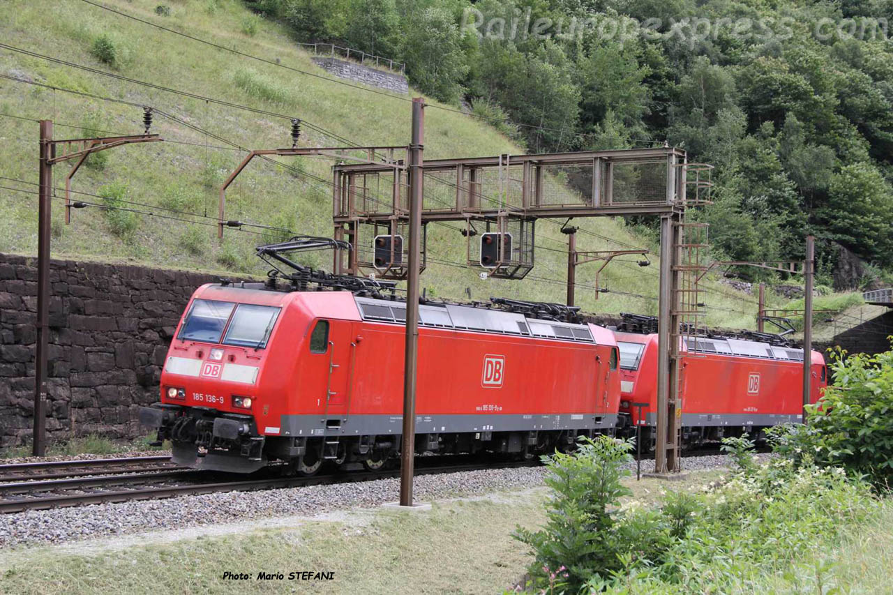 185 136-9 DB à Fedoccio Chiggogna (CH)