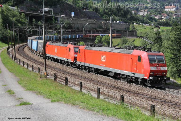 185 136-9 DB à Wassen (CH)
