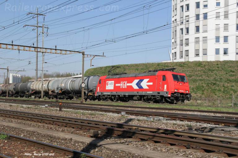 185 587-3 HGK à Pratteln (CH)