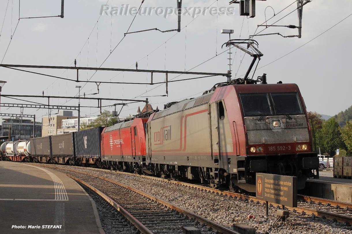 185 592-3 Crossrail à Thun