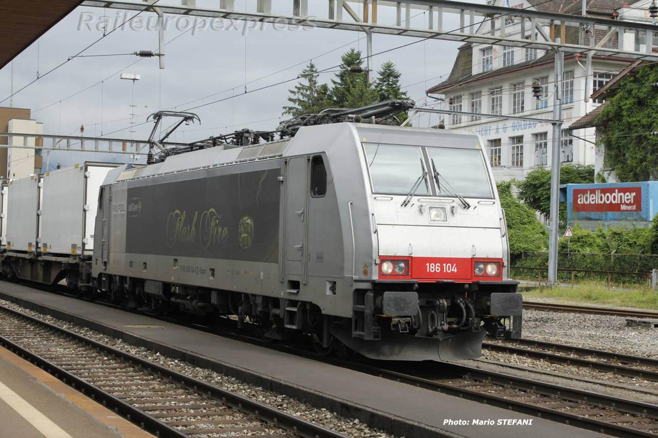 186 104 Railcare à Arth Goldau (CH)