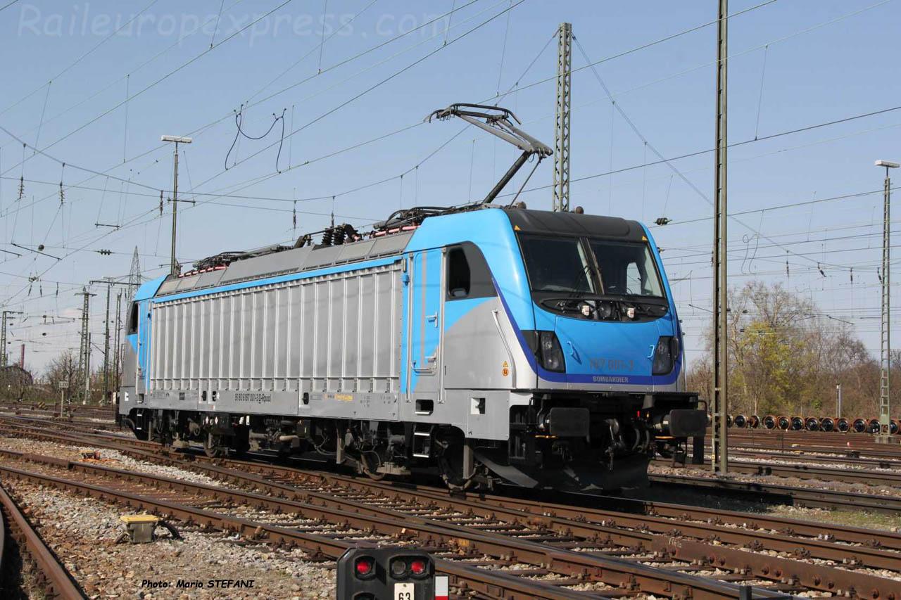 187 001-3 BLS à Basel (CH)