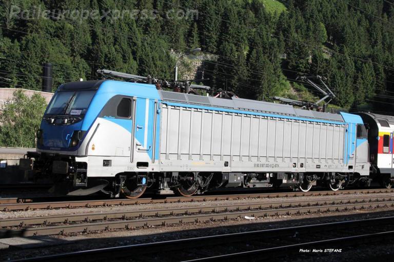 187 003-9 BLS à Göschenen (CH)
