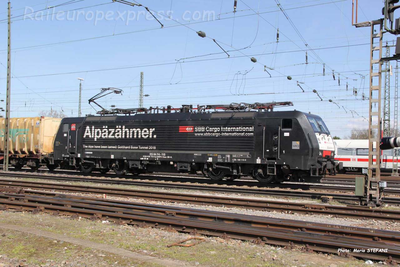 189 115-0 MRCE à Basel (CH)