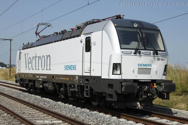 193 901 Vectron Siemens à Fillistorf (CH)