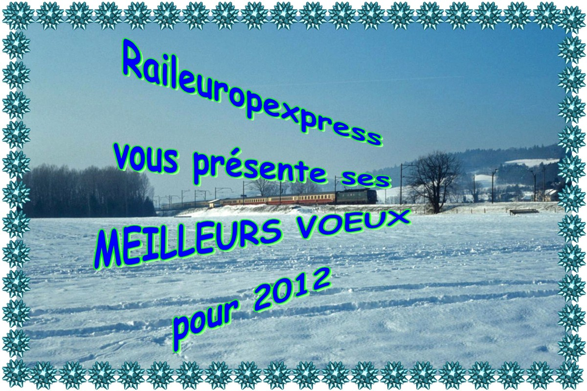 Meilleurs voeux pour 2012