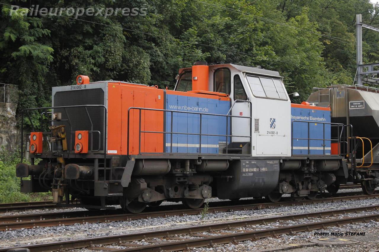 214 002-8 NBE à Neuchâtel (CH)