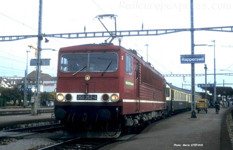 250 252-4 SOB à Rapperwil (CH)