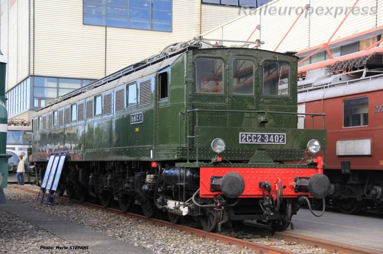 2CC2 3402 SNCF à Genève (CH) 2