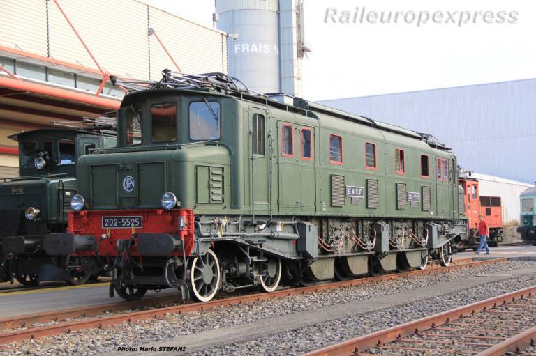 2D2 5525 SNCF à Genève (CH) 2