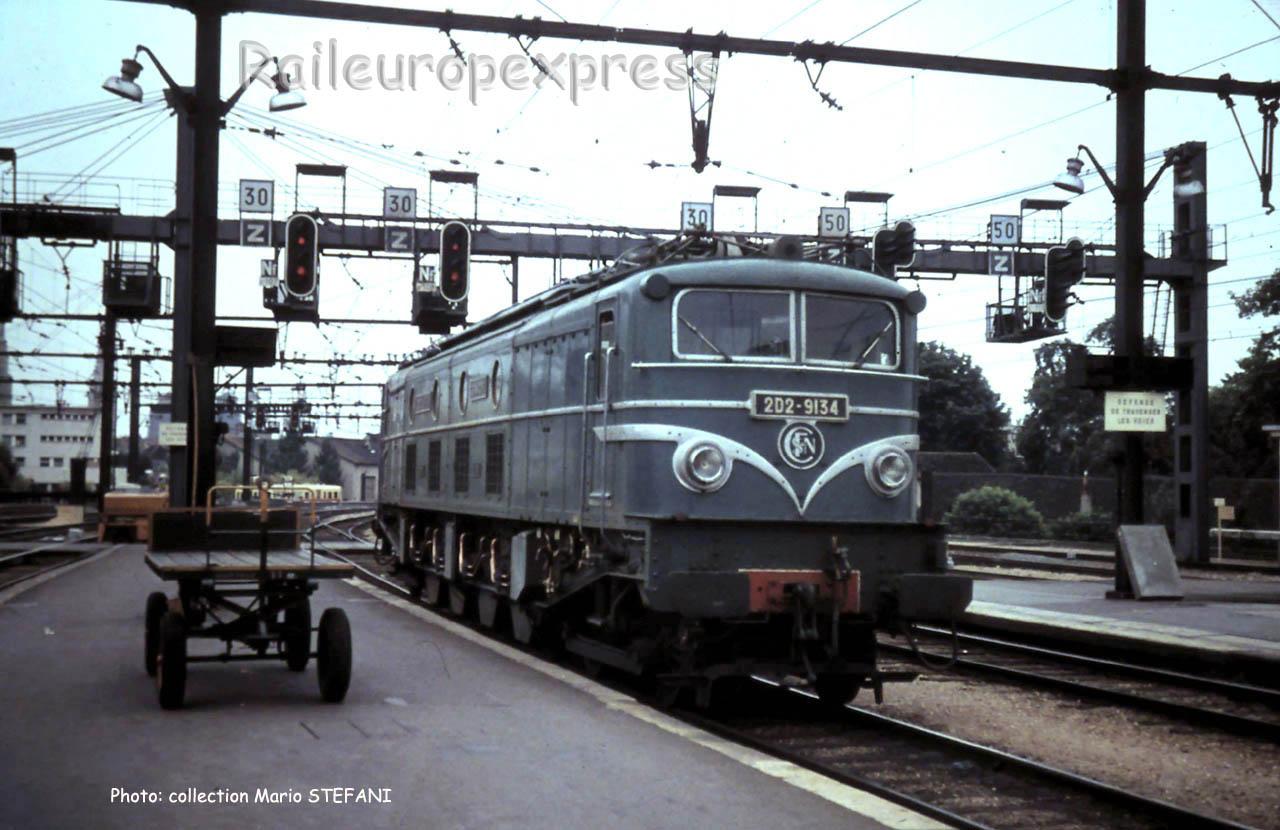 2D2 9134 SNCF à Dijon-Ville (F-21)