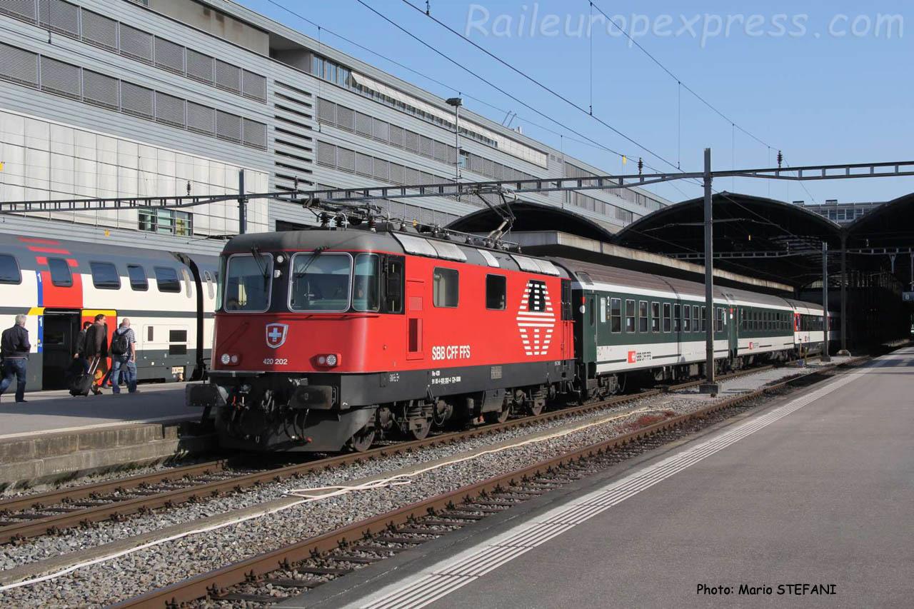420 202 CFF à Luzern (CH)