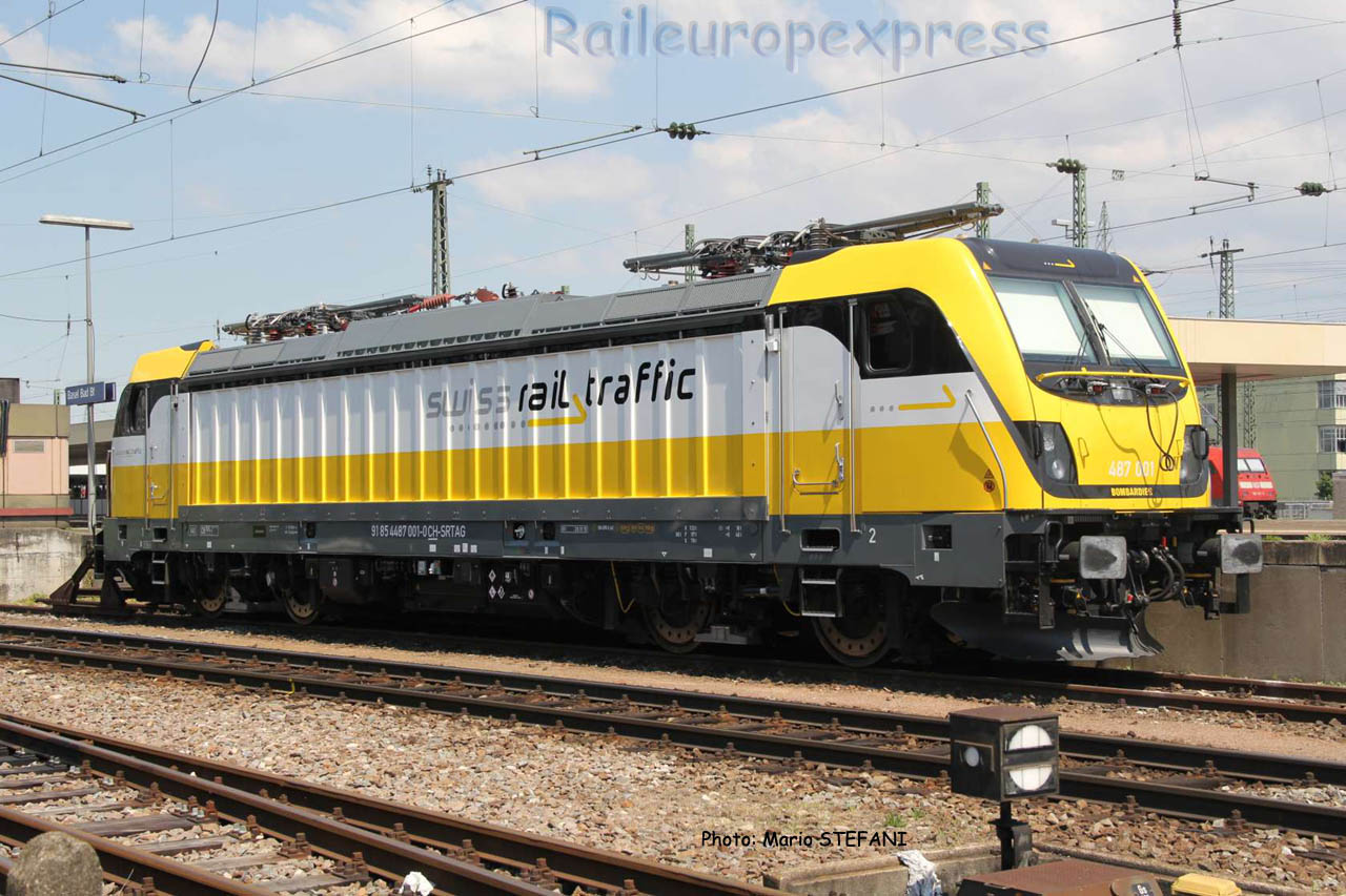 487 001-0 SRTAG à Basel (CH)