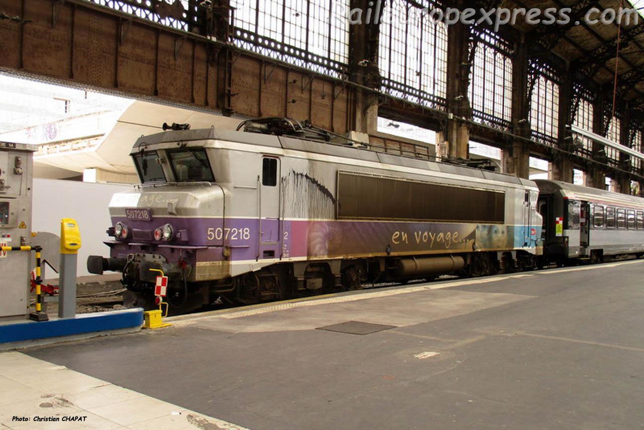 BB 7218 SNCF à Paris (F-75)