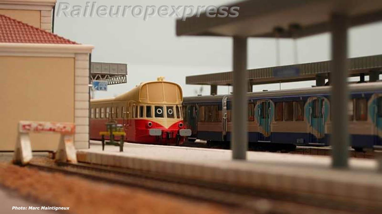 ABJ 3 sur le réseau de La Varenne