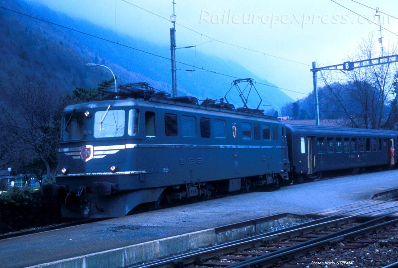 Ae 6/6 11425 CFF à Interlaken (CH)