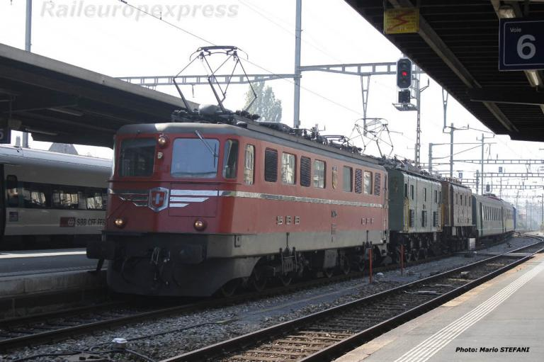 Ae 6/6 11425 CFF à Neuchätel (CH)