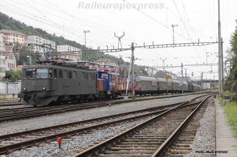 Ae 6/6 11440 CFF à Neuchâtel (CH)