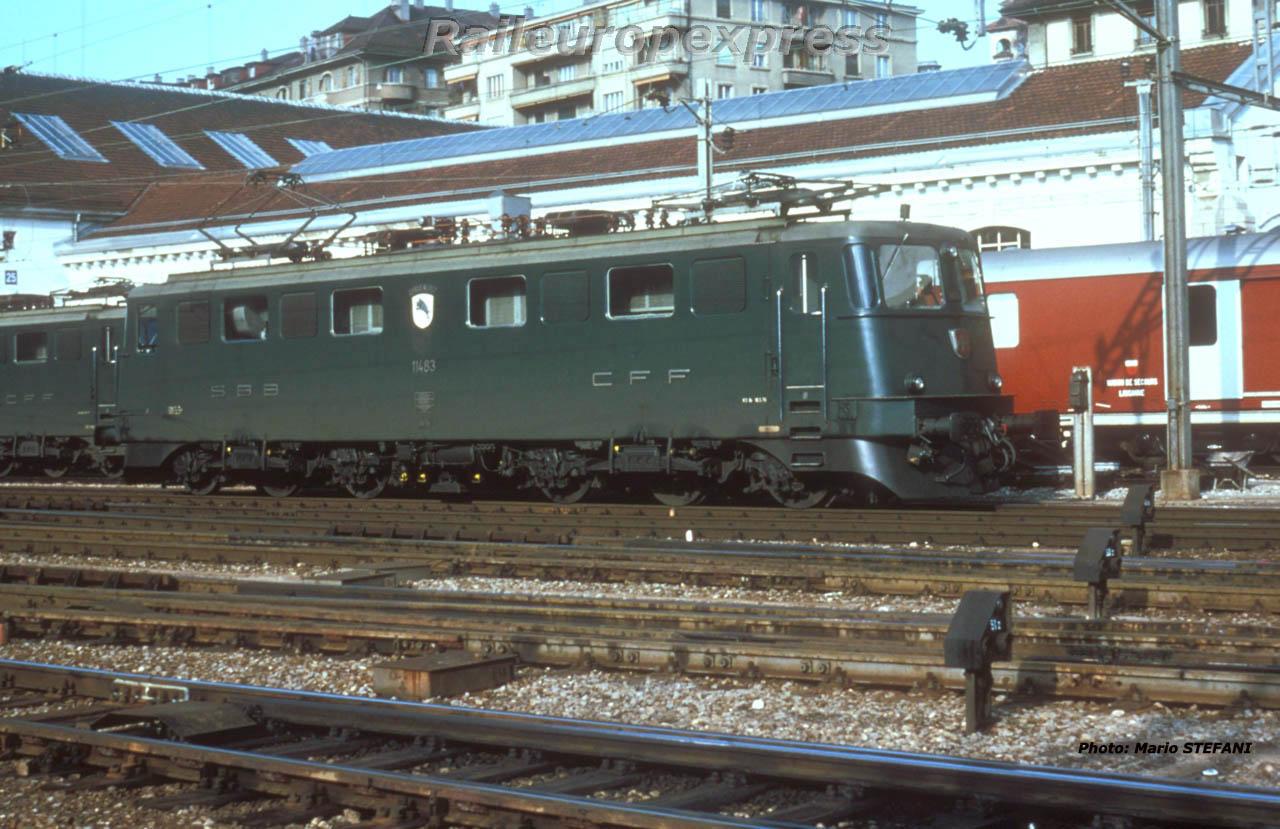 Ae 6-6 11483 CFF à Lausanne (CH)