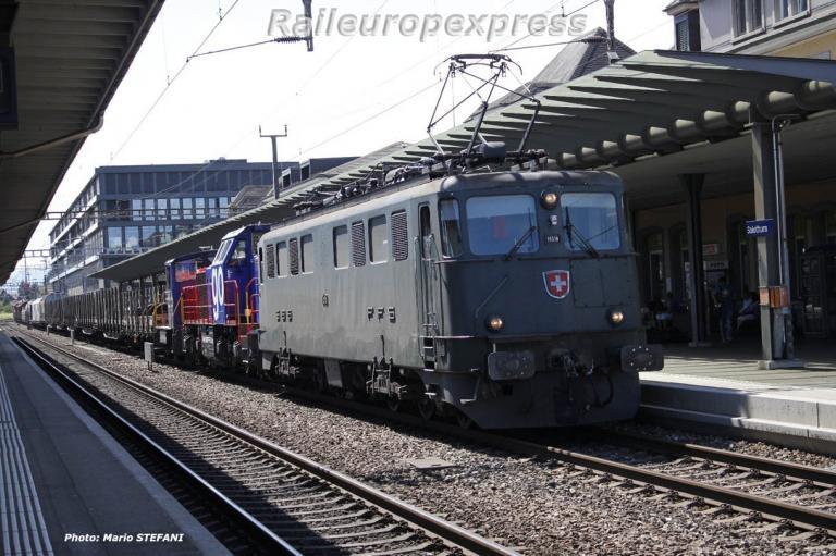 Ae 6/6 11518 CFF à Solothurn
