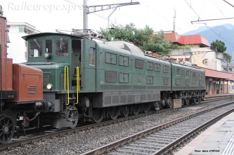 Ae 8/14 11801 CFF à Shwyz (CH)