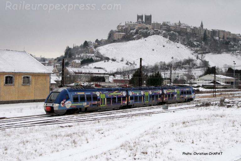 AGC Auvergne à Saint Flour (F-15)