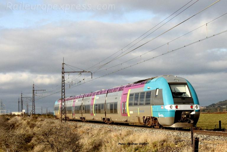 AGC SNCF à Talizat (F-15)