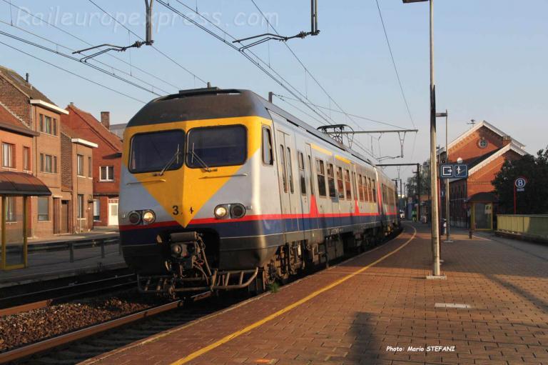AM 324 SNCB à Bilzen (B)