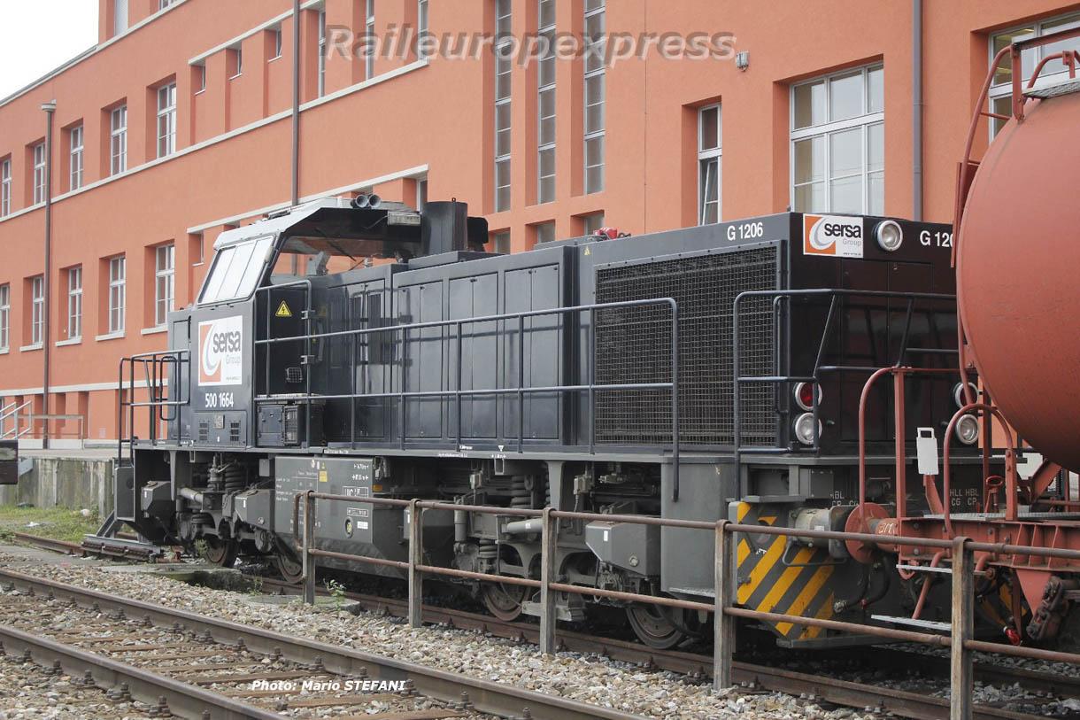 Am 500 166-4 SERSA à Muttenz