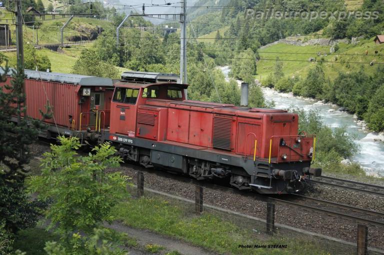 Am 841 010-2 CFF à Wassen (CH)
