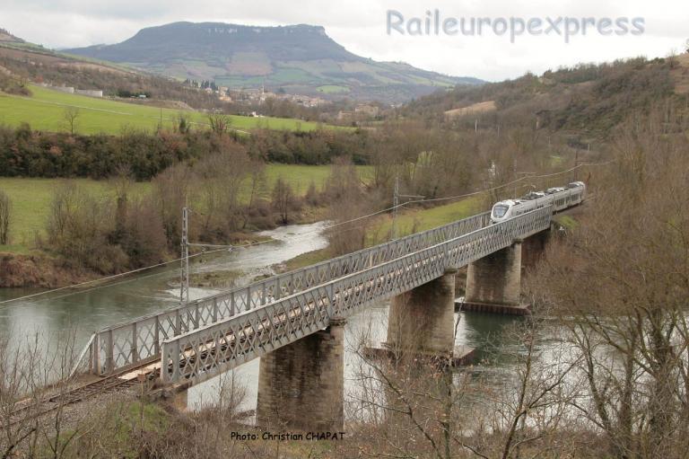 Automotrice SNCF, essais sur la ligne des Causses.