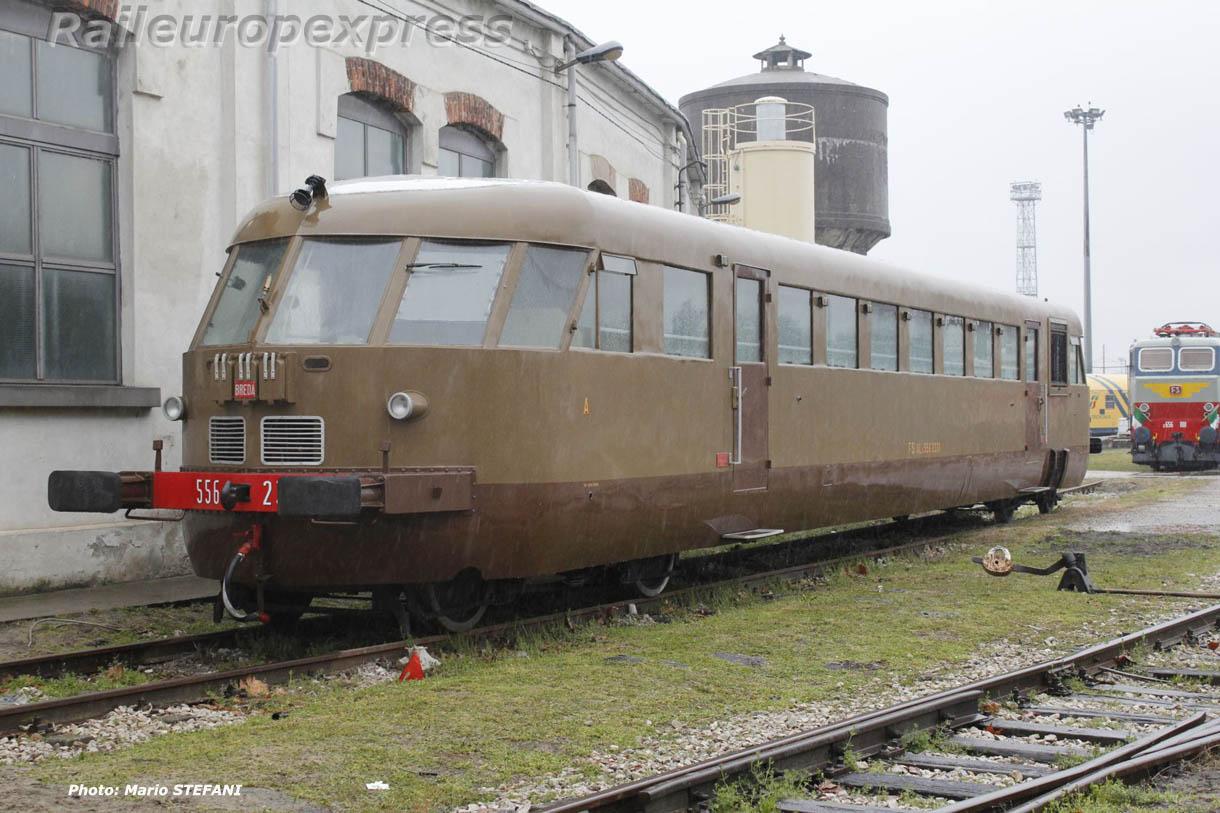 Autorail Aln 556 FS à Milan
