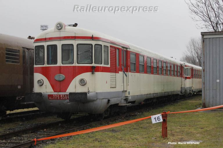 Autorail Aln 773 3504 FS à Milan