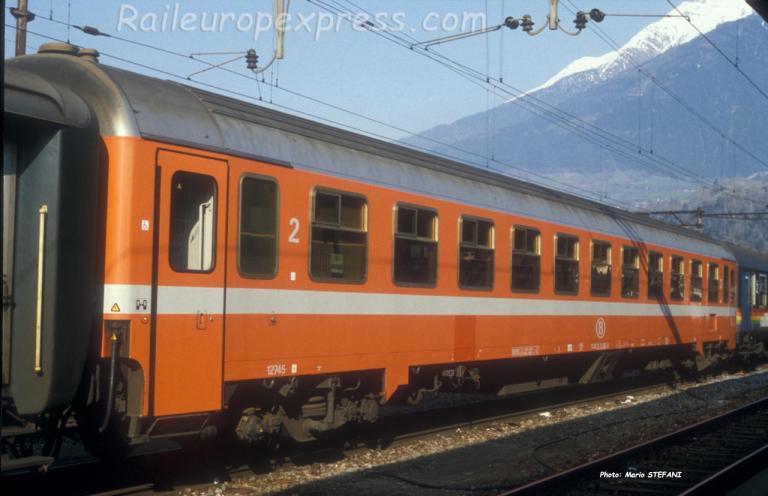 B I 10 SNCB à Brig (CH)