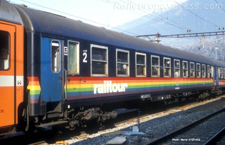 B I4 SNCB Railtour à Brig (CH)