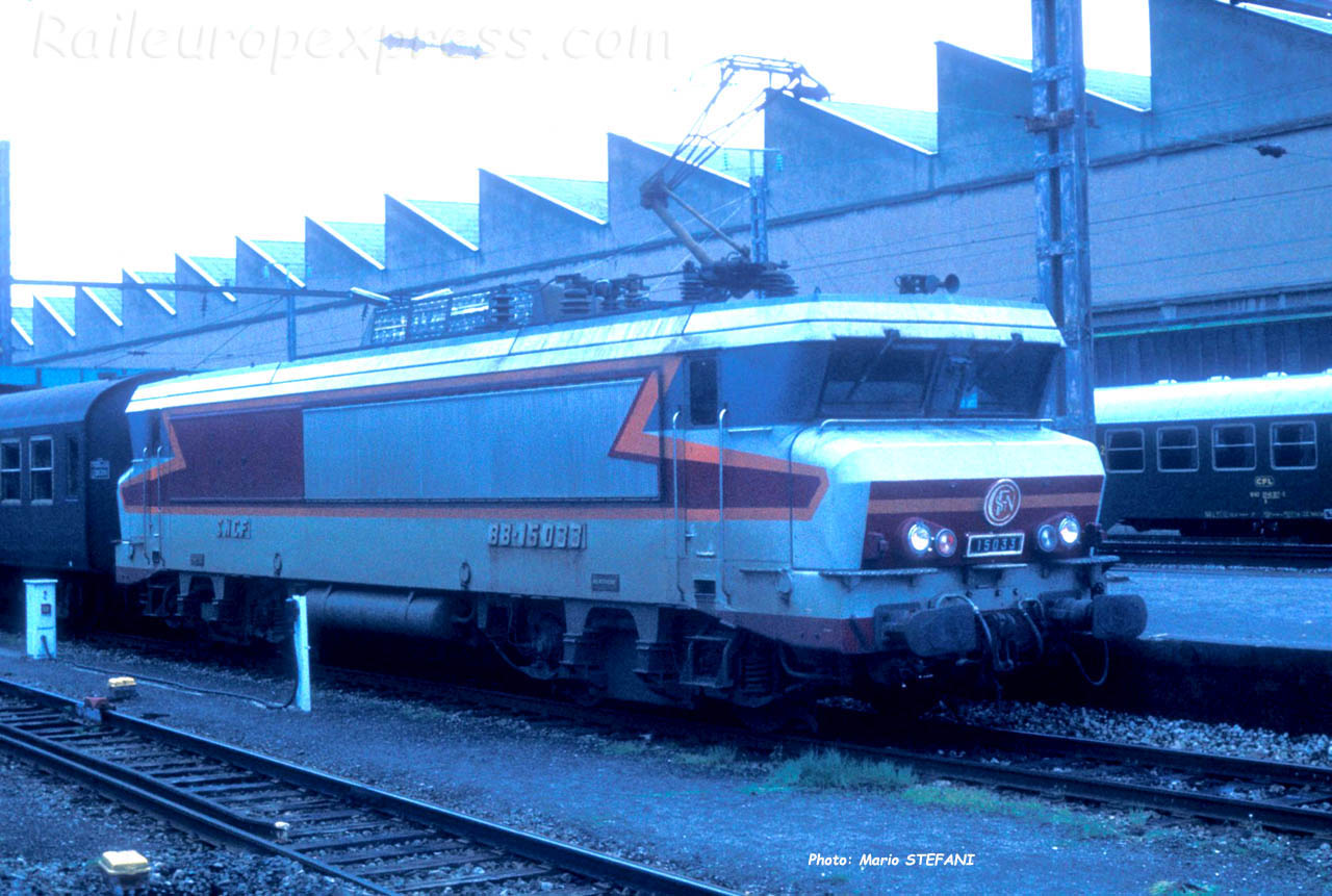 BB 15033 SNCF à Luxembourg (L)