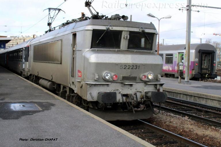 BB 22231 SNCF à Paris-Bercy (F-75)