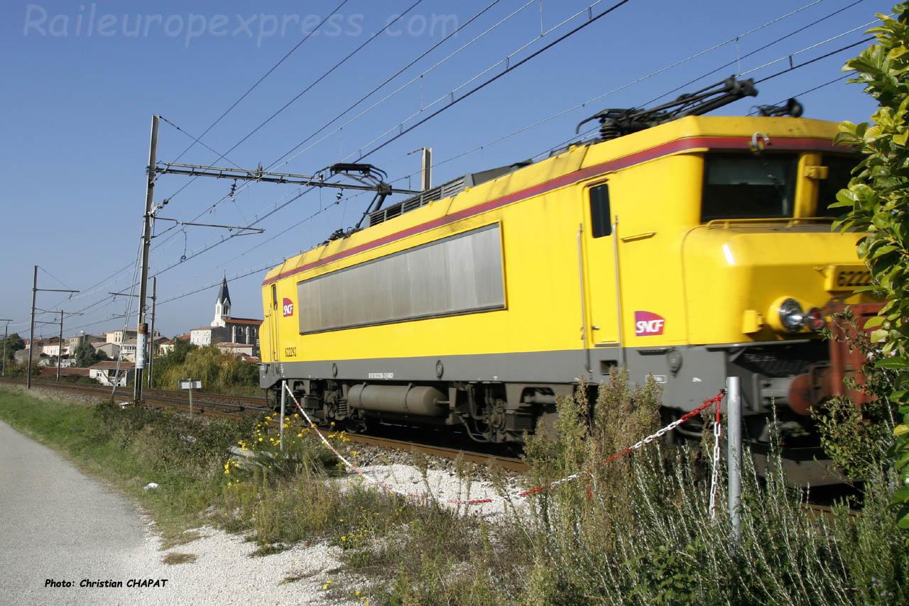 BB 22292 SNCF à Gervans (F-26)