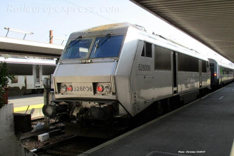 BB 26006 SNCF à Paris-Bercy (F-75)