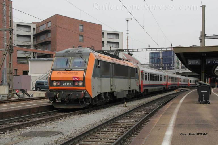 BB 26166 SNCF à Basel (CH)